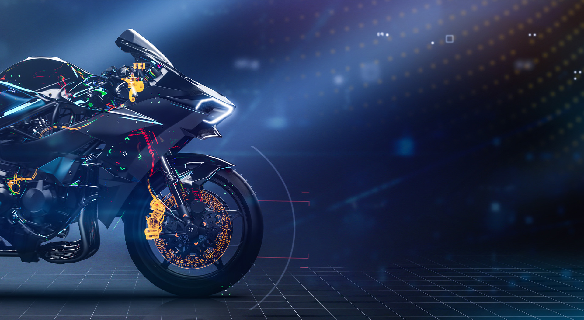 racing motorcycles slide
